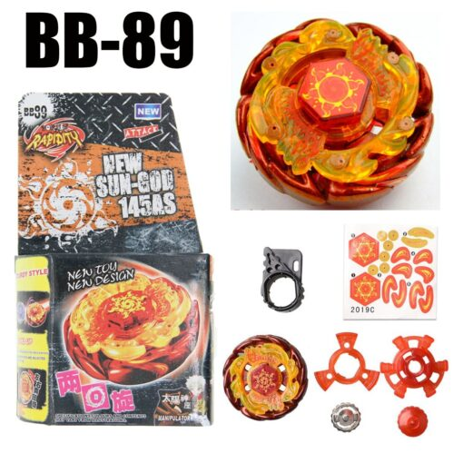Sol Solar Blaze V145AS Ultimate BB89 Spinning Top Metal Fusion Fight NEW 4D Spinning Top Drop