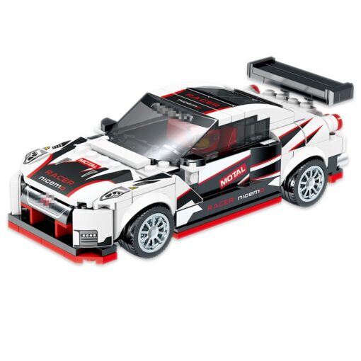 Speed Champions F8 Tributolys Huracan Super Trofeo EVO Car Building Blocks Kits Bricks Classic Model Kids 1