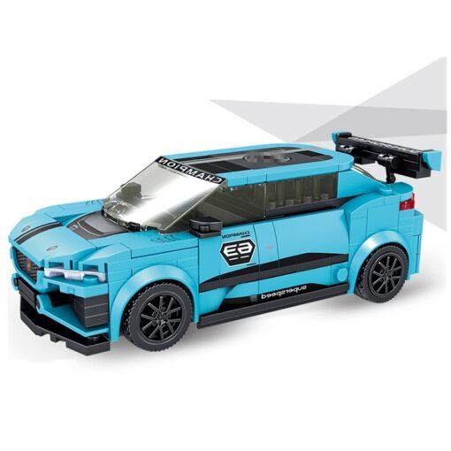 Speed Champions F8 Tributolys Huracan Super Trofeo EVO Car Building Blocks Kits Bricks Classic Model Kids 2