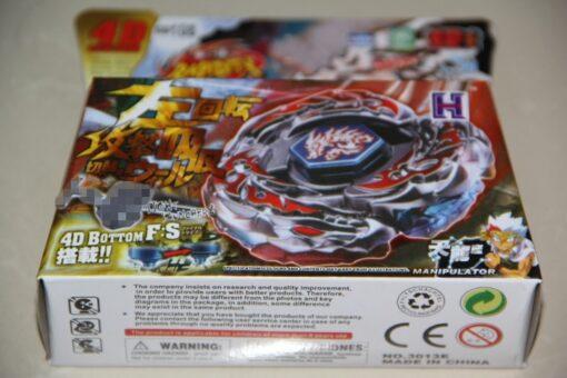 Spinning Top Factory 4D L Drago Destroy Destructor Fury Starter Set Metal Fusion spin 3