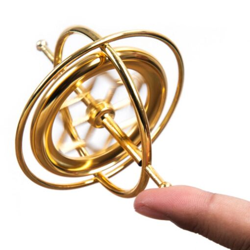 Spinning Top Self balancing Gyroscope Anti gravity Decompression Educational Toy Finger Gyroscope Toy Funny 1