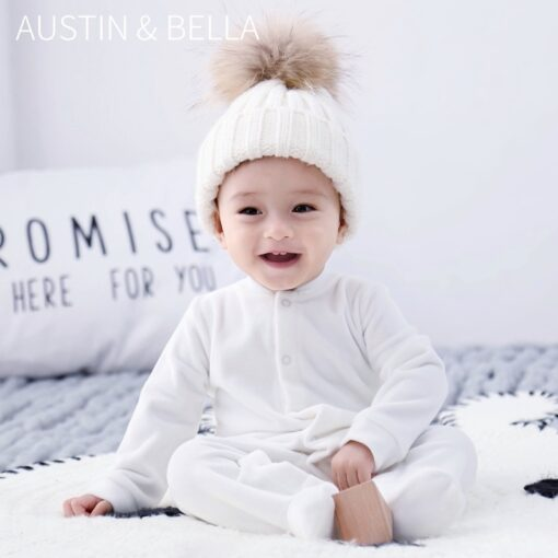 Spring Autumn Long Sleeve Angel Wings Baby Clothes 0 18 Months Fashion Newborn Cute One Piece 1