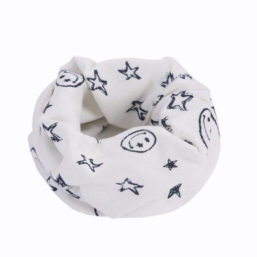 Spring baby girls polka dot triangle scarves autumn winter boys girl shawl kids cotton collar warm 1