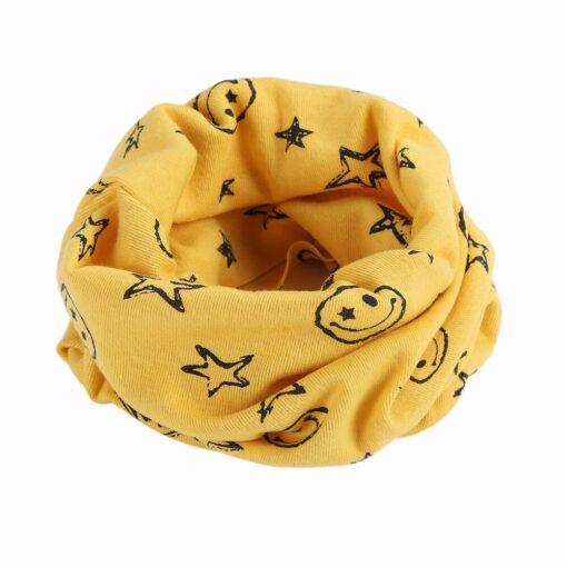 Spring baby girls polka dot triangle scarves autumn winter boys girl shawl kids cotton collar warm 3