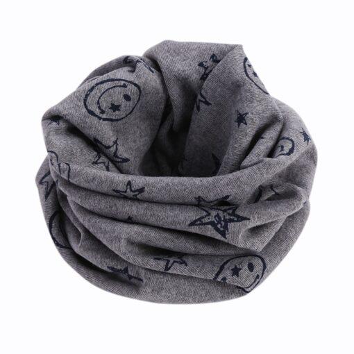 Spring baby girls polka dot triangle scarves autumn winter boys girl shawl kids cotton collar warm 4