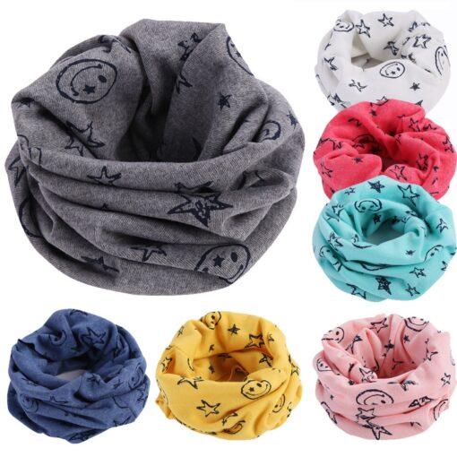 Spring baby girls polka dot triangle scarves autumn winter boys girl shawl kids cotton collar warm