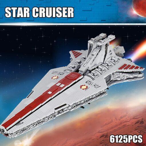 Star Toys Wars UCS Venator Republic Attack Cruiser Set Buidling Blocks Bricks Toys Compatible MOC 0694 2