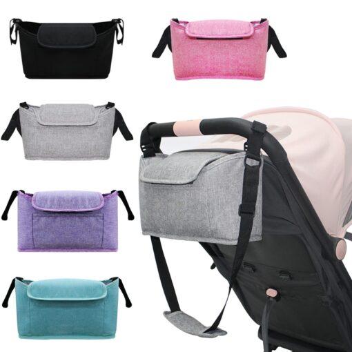 Stroller Bag Pram Stroller Organizer Baby Stroller Accessories Stroller Cup Holder Cover Trolley Organizer Babies Accessories 6