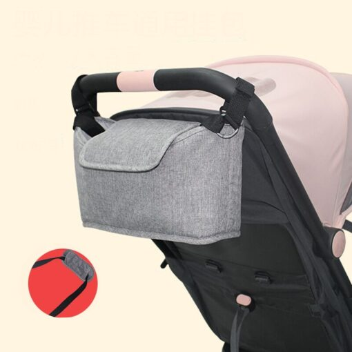 Stroller Bag Pram Stroller Organizer Baby Stroller Accessories Stroller Cup Holder Cover Trolley Organizer Babies Accessories 8