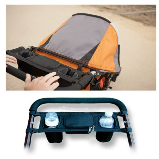 Stroller Organizer For Diaper Clothes Towels Straps Hanging Bag baby Carriage bag Baby stroller bottle storage