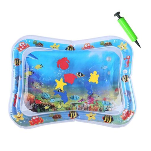 Summer Baby Activity Gym Mat Kid Water Play Mat Inflatable Ice Cushion Multifunction Playmat Toys 5