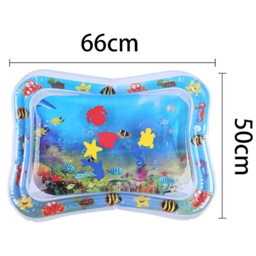 Summer Baby Inflatable Patted Pad Infant Water for Baby Activity Ice Mat Cushion Toy with Inflator 1
