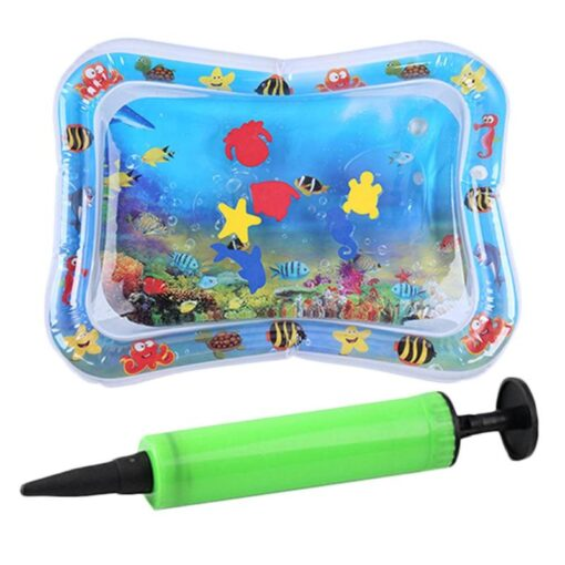 Summer Baby Inflatable Patted Pad Infant Water for Baby Activity Ice Mat Cushion Toy with Inflator