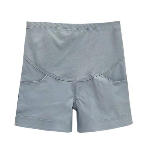 Summer Cotton Maternity Belly Short Pants Pregnant Women Shorts Pregnancy Short Trousers Adjustable Belly Clothes Korean 4