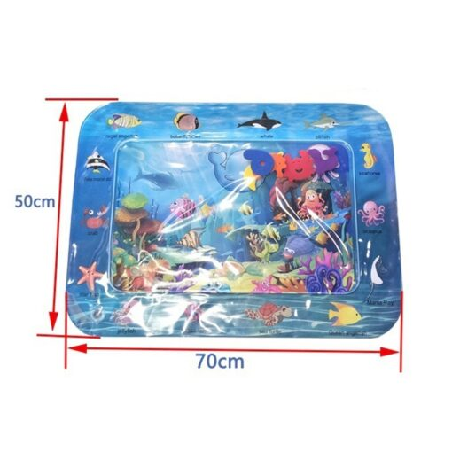 Summer Infant Ice Patted Cushion Water Baby Inflatable Mat Early Educational Toy Children Portable Interactive Present 2
