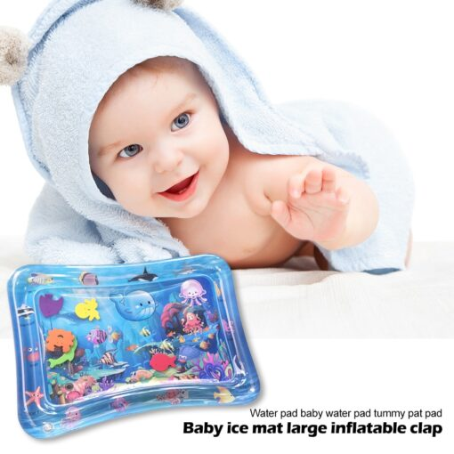 Summer Infant Ice Patted Cushion Water Baby Inflatable Mat Early Educational Toy Children Portable Interactive Present 4