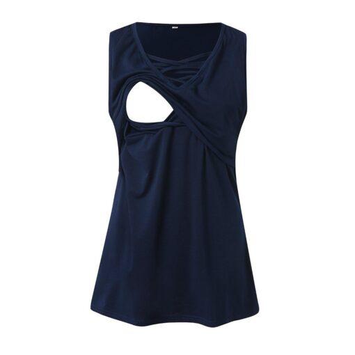 Summer Pregnant Women Short Sleeves Fashion Sexy V neck Breastfeeding Top Comfortable High quality Nursing T 2