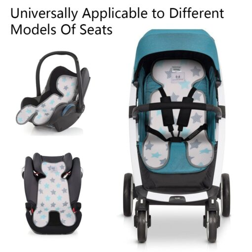 Summer Stroller Cooling Pad 3D Air Mesh Breathable Stroller Mat Mattress Car Seat Cover Cushion for 3