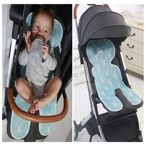 Summer Stroller Cooling Pad 3D Air Mesh Breathable Stroller Mat Mattress Car Seat Cover Cushion for