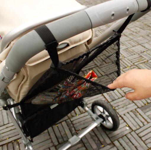 Summer child stroller net pocket trolley baby supplies baby stroller storage bag hanging bag car storage 2