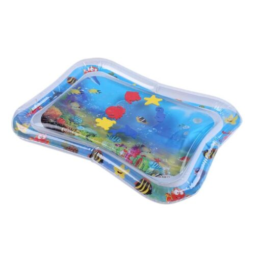 Summer inflatable water mat for babies Safety Cushion Ice Mat Early Education Toys Play 4