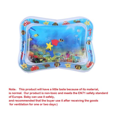 Summer inflatable water mat for babies Safety Cushion Ice Mat Early Education Toys Play 5