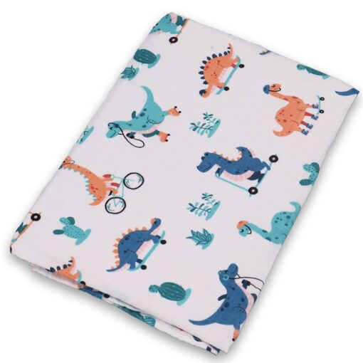 Swaddle blanket Cotton Baby Blankets Newborn Soft Baby Blanket Muslin Swaddle Wrap Feeding Burp Cloth Towel 4