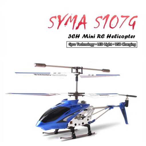 Syma S107G RC Helicopter 3 5CH Alloy Copter Quadcopter Built in Gyro Helicopter toys for children