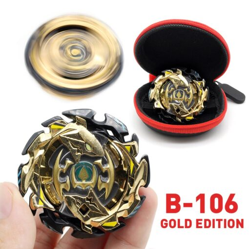TAKARA TOMY Gold Edition Bey Bay Burst Toy No Launcher and Box Babled Metal Fusion Rotate 2