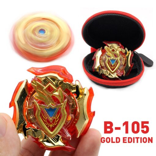 TAKARA TOMY Gold Edition Bey Bay Burst Toy No Launcher and Box Babled Metal Fusion Rotate 3