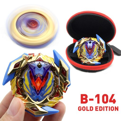 TAKARA TOMY Gold Edition Bey Bay Burst Toy No Launcher and Box Babled Metal Fusion Rotate 4