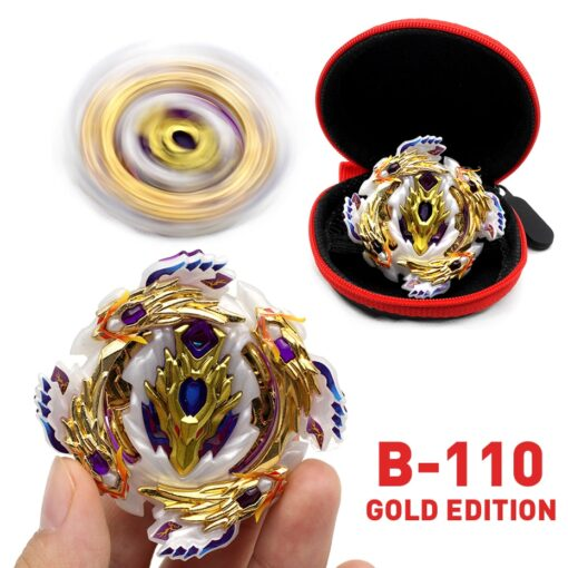 TAKARA TOMY Gold Edition Bey Bay Burst Toy No Launcher and Box Babled Metal Fusion Rotate