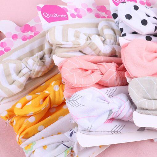 TELOTUNY 2019 NEW 3pcs lot Baby Headband Florals Hairwear For Newborn Baby Girls Elastic Bowknot Headband 5