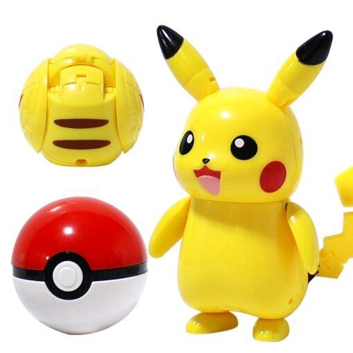 Takara Tomy Pokemon Pokeball Set Pop up Elf Ball Toys TAKARA TOMY Original Pokemon Monster Elf 1