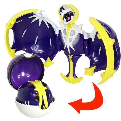 Takara Tomy Pokemon Pokeball Set Pop up Elf Ball Toys TAKARA TOMY Original Pokemon Monster Elf 3
