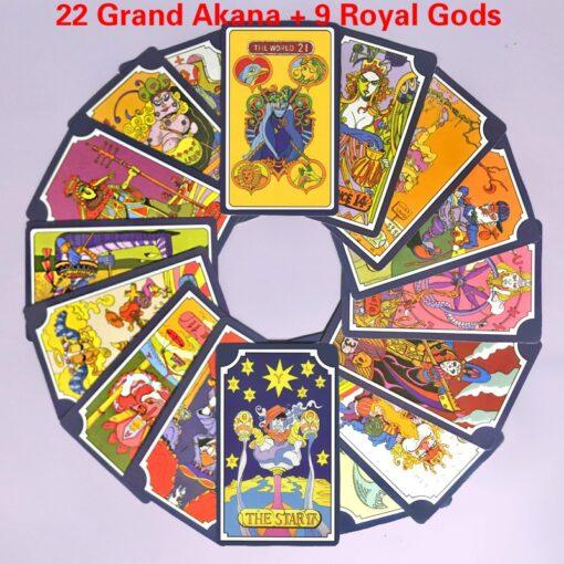 Tarot 22 Grand Akana 9 Royal Gods 31 Anime JoJo s Bizarre Adventure Dio Kujo Jotaro