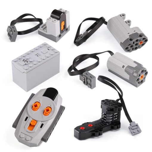 Technical Power Functions Servo Motor Polarity Switch train electric motor PF Speed Remote Control Receiver Battery