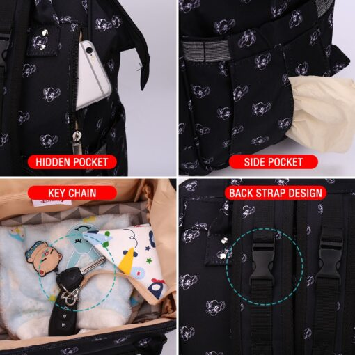 The Lion King Simba Diaper Bag Baby Travel Back Mommy Bag For Baby Carts Stroller Mummy 4