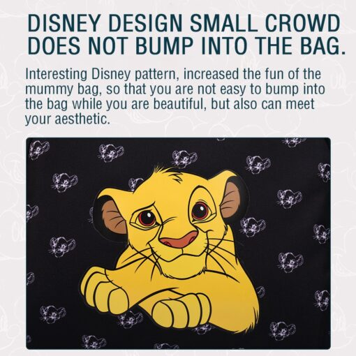 The Lion King Simba Diaper Bag Baby Travel Back Mommy Bag For Baby Carts Stroller Mummy 5