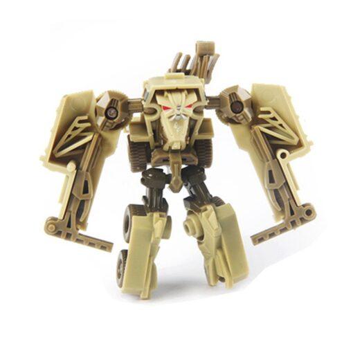 Transformation Robot Car Kit Deformation Robot Action Figures Toy for Boy Vehicle Model Kids Gift 5