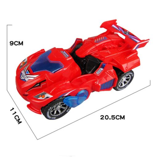 Transforming Dinosaur LED Car Electric Toy Toys With Light Sound 4