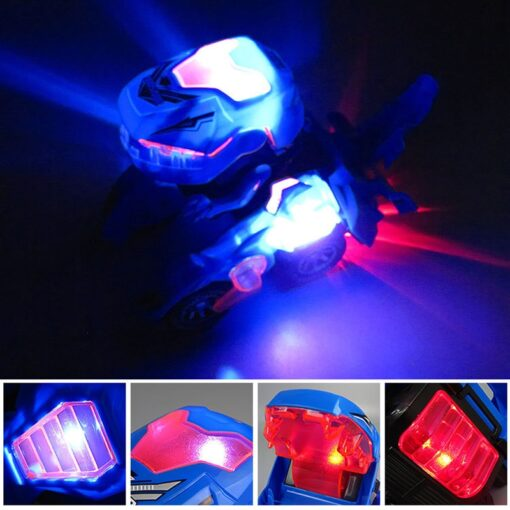 Transforming Dinosaur LED Car Electric Toy Toys With Light Sound 5