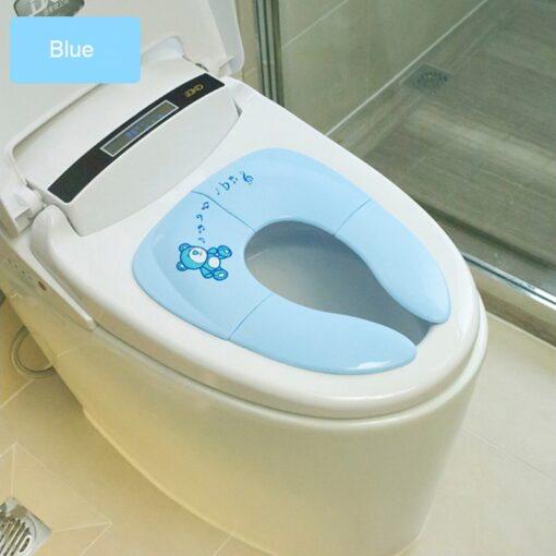 Travel Folding Baby Potty Seat Kids portable Toilet Training seat Cover toddler urinal cushion children pot
