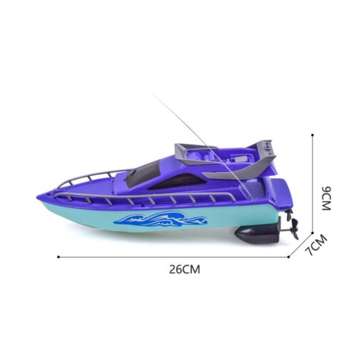Twin Motor High Speed Boat Easy To Use Remote Control Ship Toys For kids toys for 4