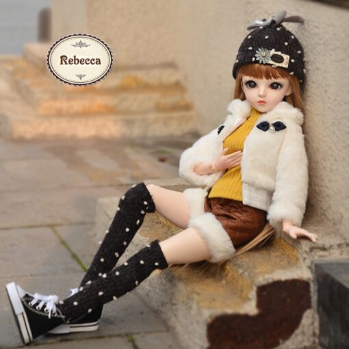 UCanaan BJD Doll 60CM 1 3 Fashion Girls SD Dolls 18 Ball Jointed Doll With Outfits 3