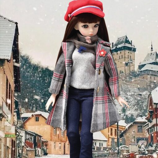 UCanaan BJD Doll 60CM 1 3 Fashion Girls SD Dolls 18 Ball Jointed Doll With Outfits 4