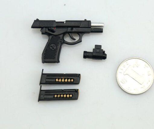US 1 6 Scale Solider weapon QSZ92 Semi automatic Pistol Rifle Gun guns weapon Model for 3