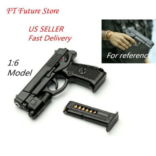 US 1 6 Scale Solider weapon QSZ92 Semi automatic Pistol Rifle Gun guns weapon Model for 4