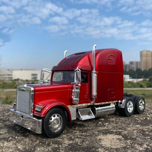 USA truck tractor 1 32 diecast metal alloy vehicle American heavy trailer Trailer head model toys 1