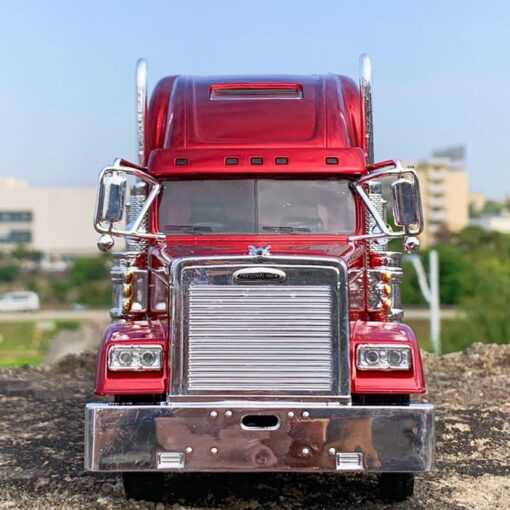 USA truck tractor 1 32 diecast metal alloy vehicle American heavy trailer Trailer head model toys 4